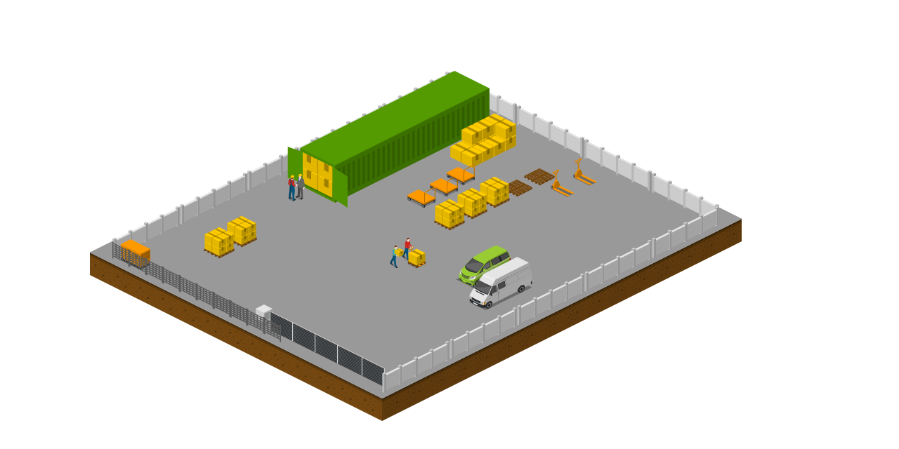 Storage Yards-Infographic